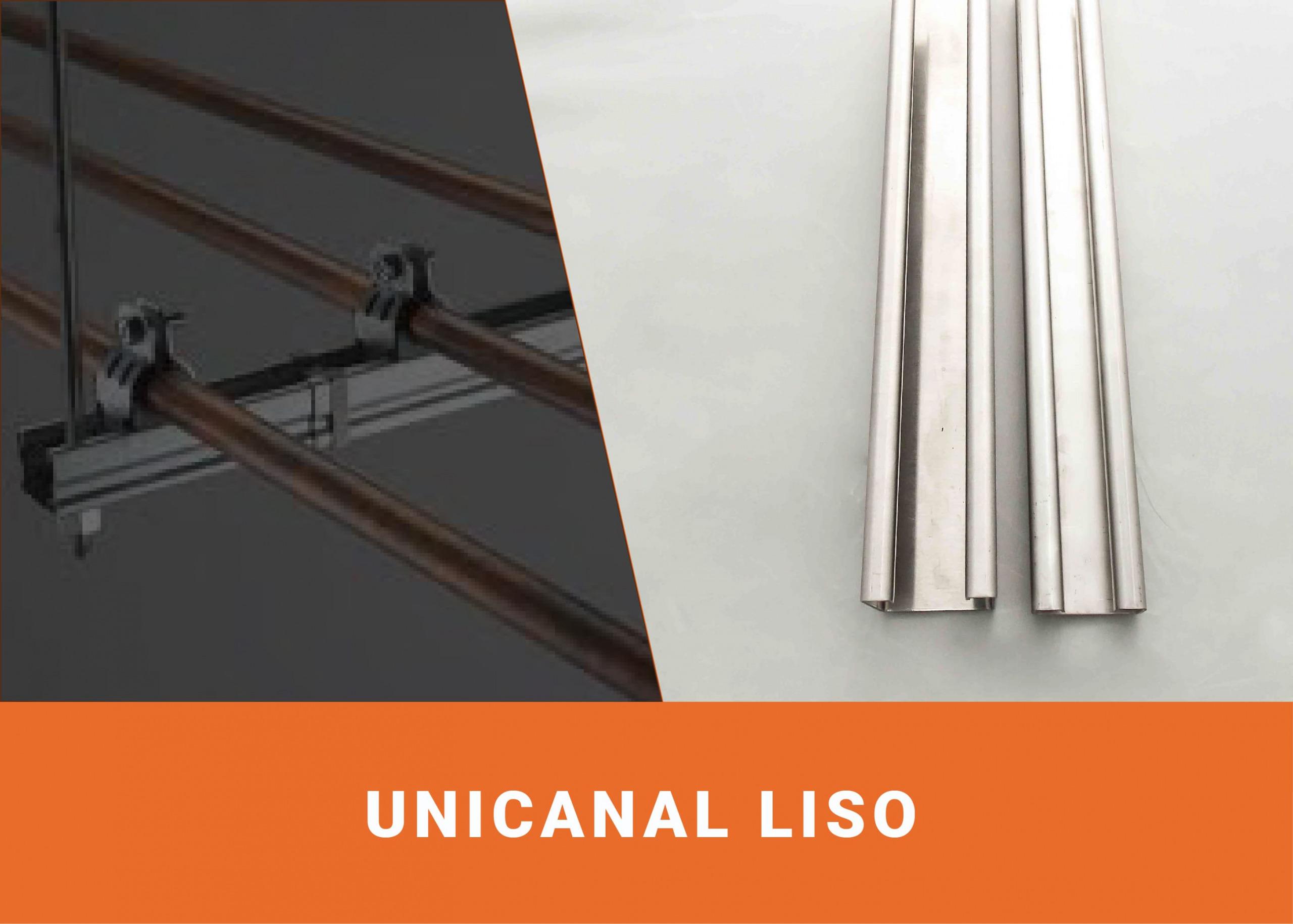Unicanal 4x4/4x2 galvanizado liso Image