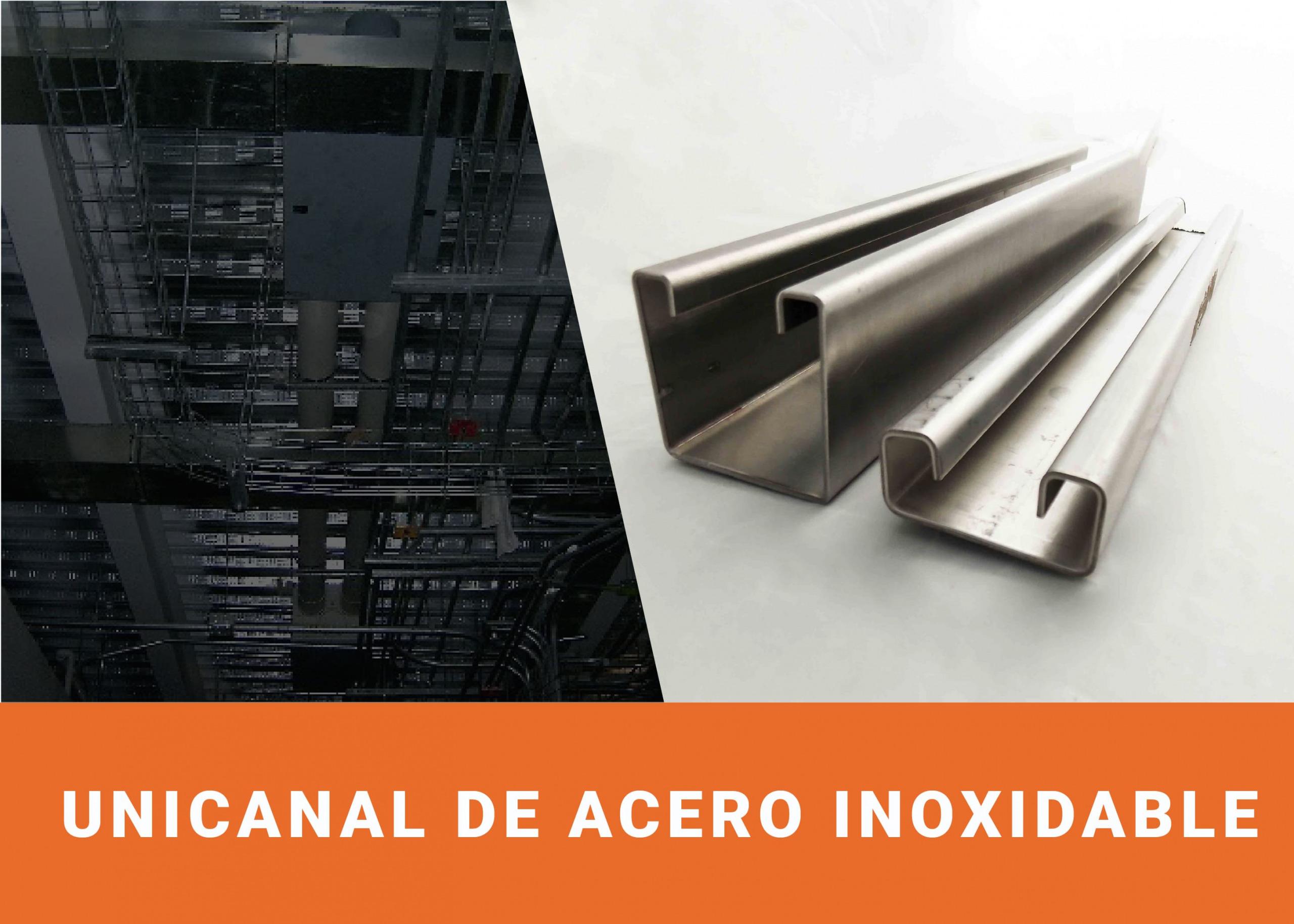 Unicanal de acero inoxidable 4x4/4x2 Image